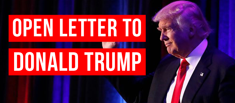 Open Letter to Donald Trump: A Call for LGBT Equality
