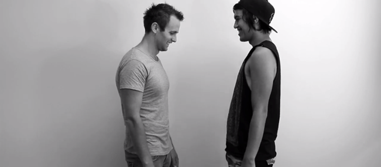 WATCH: 10 Male Strangers Kiss For The First Time