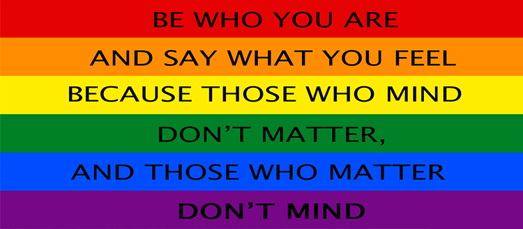 Questioning LGBT: Labels are either to choose, or to lose - but respect other people's choices on them